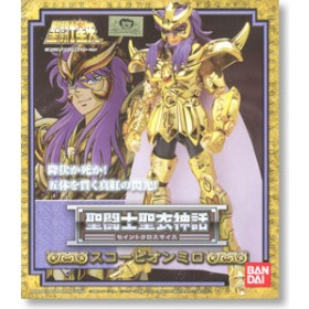 Myth cloth Gold Saint  Scorpion Milo
