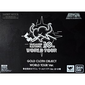 Tamashii Nations 10th World Tour Gold Cloth Object Bandai