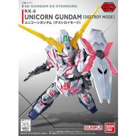 SD Gundam Unicorn destroy EX STD 005 Bandai
