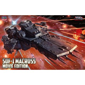 SDF-1 Macross Fortress Warship (The Movie Ver.) by Hasegawa