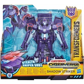 Shadow Striker Cyberverse Action Attackers Ultra 2 in 1 Transformers Hasbro