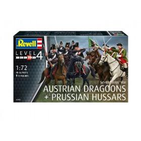 Seven Years War Austrian Draggons & Prussian Hussars