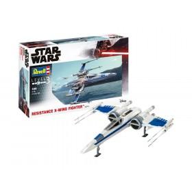 Star Wars Model Kit 1/50 Resistance X-Wing Fighter 25 cm