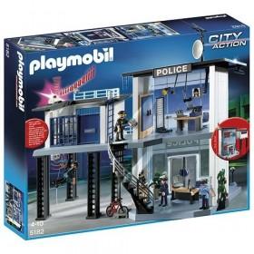 Playmobil Cith Action Stazione polizia con allarme