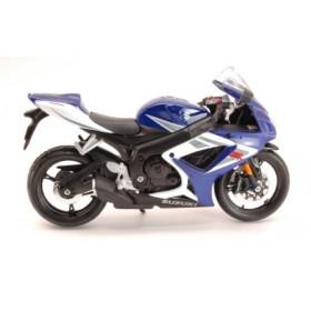 Suzuki GSX-R750 White / Blue Motorbike