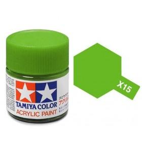 Acrylic X15 Light Green 23ml Bottle