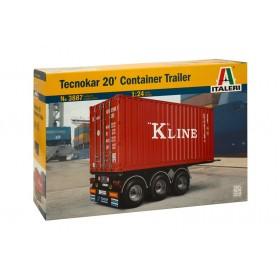 Tecnokar 20 Container Trailer
