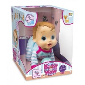 IMC Toys TEO Bebè, bambola interattiva Multicolore