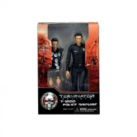 """Terminator Genesys 7"""" Scale Action Figure T-1000 Police Disguise"""