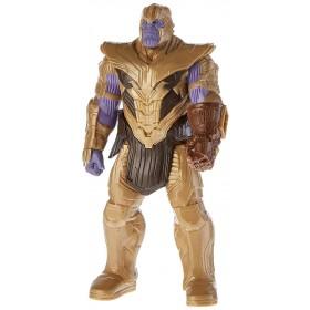 Hasbro Marvel Avengers Endgame - Thanos Titan Hero Deluxe compatibile con Power FX