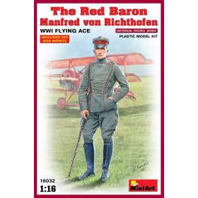 The Red Baron Manfred von Richthofen (WWI Flying Ace) by MiniArt