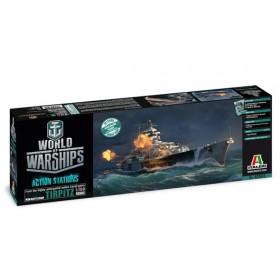 World of Warships Tirpitz Italeri