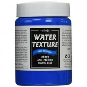 Vallejo Texture Pacific blue Water 26203