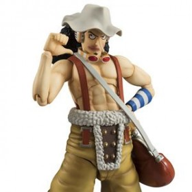 One Piece Ussop Vah Variable action Megahouse