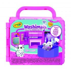 Washimals Set Salone di Bellezza, per Colorare e Fare il Bagnetto ai Cuccioli by Crayola