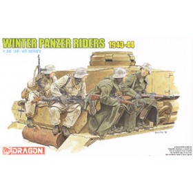 Winter Tank Riders 1943-44