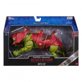 Masters of the Universe: Revelation Masterverse Action Figure 2021 Deluxe Battle Cat