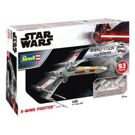 Star Wars Easy-Click Model Kit 1/29 X-Wing Fighter