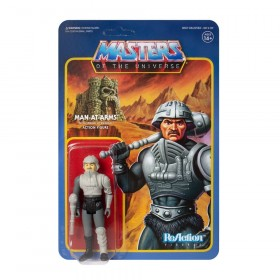 Masters of the Universe ReAction Action Figure Man-At-Arms (Movie Accurate)