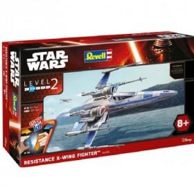 Star Wars Episode VII EasyKit Model Kit Resistance X-Wing Fighter
