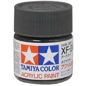 XF-24 Dark Grey. Tamiya Color Acrylic Paint (Flat) – Colori opachi