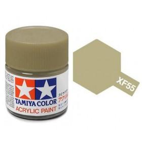 XF-55 Deck Tan. Tamiya Color Acrylic Paint (Flat) – Colori opachi