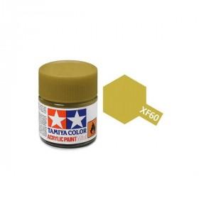 XF-60 Dark Yellow. Tamiya Color Acrylic Paint (Flat) – Colori opachi