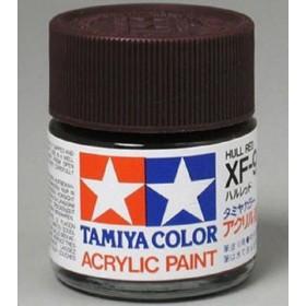 XF-9 Hull Red. Tamiya Color Acrylic Paint (Flat) – Colori opachi
