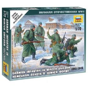 German Infantry WWII Winter unif Zvezda