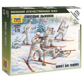 Soviet Ski Troops WWII Zvezda