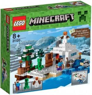 Minecraft® Nascondiglio Nella Neve