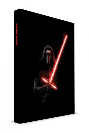 Star wars EP7 Kylo lghtsbr notebook light / sound