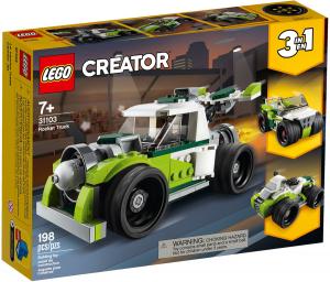 Lego 31103 CREATOR Razzo-bolide