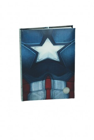 Captain America cw chest noteboook w/light