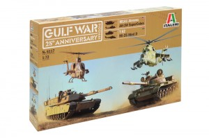 Gulf war 25th anniversary battle set