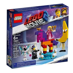 Lego the Movie Introducing Queen Watevra Wa'Nabi