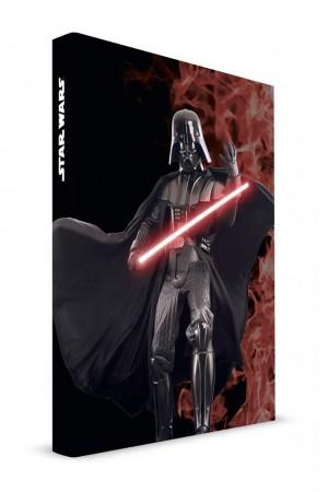 Star Wars Darth Vader notebook light and sound
