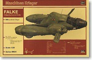Anti Gravity Fighter Falke Pkf.8