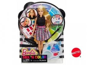 Barbie mix colour Mattel