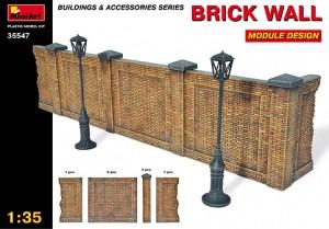 Brick Wall. Module design.