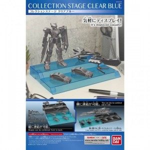 Collection Stage clear blue
