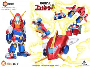 Combattler V, Kids Nations Series SR01 Mini Figure, Set of 6 by Kids Logics