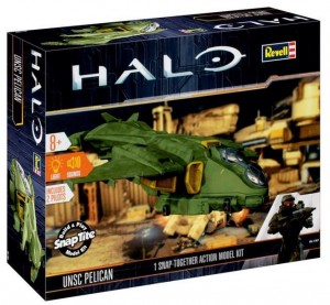 Halo Build & Play UNSC-Pelican with light & sound Revell