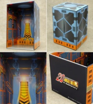 Soul of chogokin 20th anniversary Carton Stage