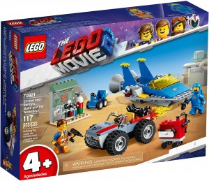 Lego the Movie Emmet and Benny's Build and Fix Worksop