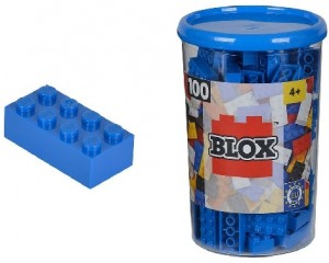 Lego Blue Blocx 100 pcs