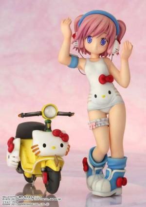 Shizuku Minase with Hello Kitty by Griffon