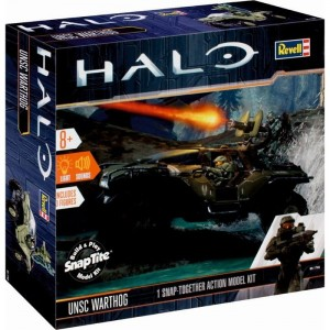 Build & Play Halo UNSC-Warthog light & sound Revell
