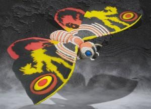 S.H.MonsterArts Mothra (adult) (Tamashii Limited)
