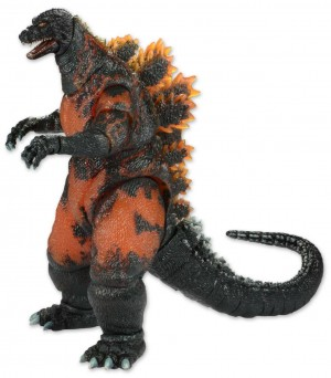 Godzilla Head to Tail Action Figure Classic 1995 Burning Godzilla
